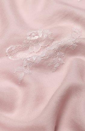 Женская шерстяной палантин VINTAGE SHADES светло-розового цвета, арт. 13713 | Фото 2