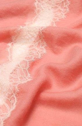 Женская шерстяной палантин VINTAGE SHADES розового цвета, арт. 12244C | Фото 2