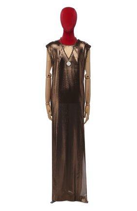 Женское платье LANVIN коричневого цвета, арт. W021920387C8A | Фото 1