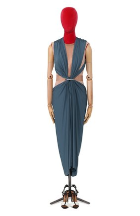 Женское платье LANVIN синего цвета, арт. RW-DR2106-3038-E16 | Фото 1