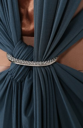 Женское платье LANVIN синего цвета, арт. RW-DR2106-3038-E16 | Фото 2