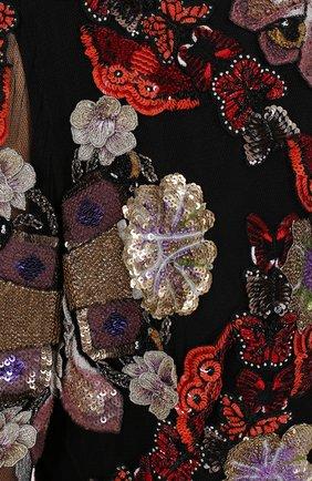 Женское платье-макси ALEXANDER MCQUEEN разноцветного цвета, арт. 435314/QHZ22 | Фото 2