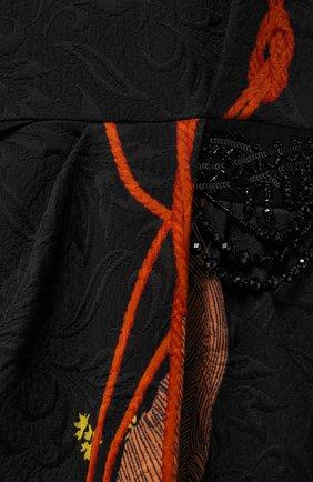 Платье из смеси вискозы и хлопка | Фото №2
