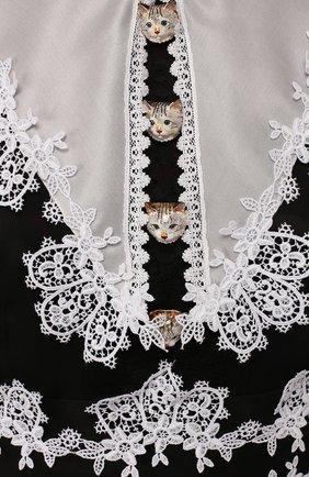 Платье из смеси шелка и хлопка | Фото №2