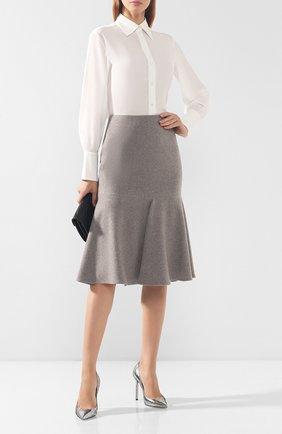 Кашемировая юбка | Фото №2