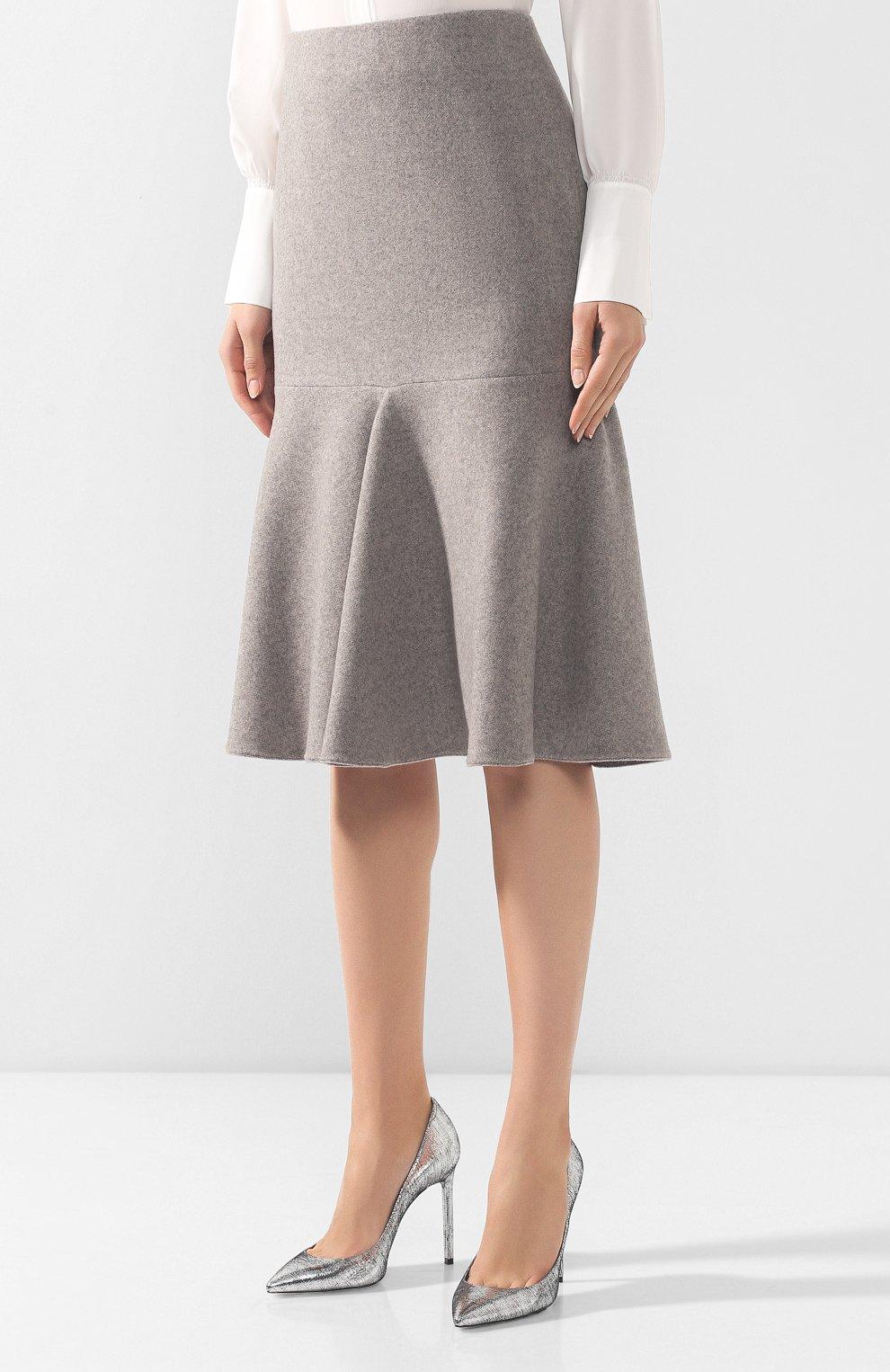 Кашемировая юбка | Фото №3
