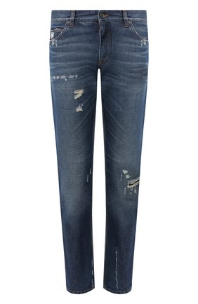 Мужские джинсы DOLCE & GABBANA синего цвета, арт. GYJCCD/G8BG2 | Фото 1