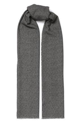 Мужской шерстяной шарф ALTEA серого цвета, арт. 1960068 | Фото 1