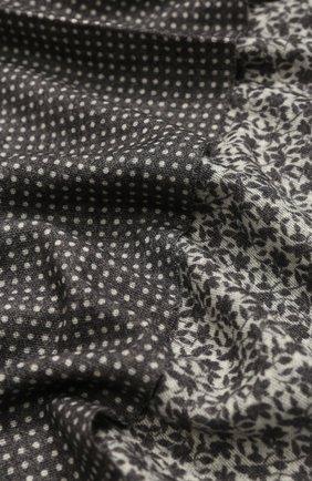 Мужской шерстяной шарф ALTEA серого цвета, арт. 1960068   Фото 2