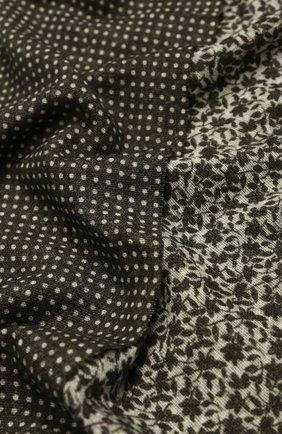 Мужской шерстяной шарф ALTEA зеленого цвета, арт. 1960068 | Фото 2