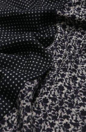 Мужской шерстяной шарф ALTEA синего цвета, арт. 1960069 | Фото 2