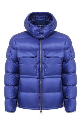 Мужская пуховая куртка rouve MONCLER синего цвета, арт. E2-091-40825-05-53334 | Фото 1