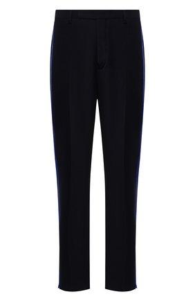 Мужской брюки из смеси вискозы и шерсти TRIPLE RRR черного цвета, арт. FW20 P012 R12 3009 | Фото 1