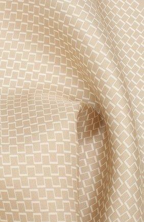 Мужской шелковый платок TOM FORD бежевого цвета, арт. 6TF94/TF312 | Фото 2