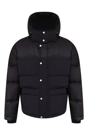 Мужская пуховая куртка GUCCI черного цвета, арт. 553281/Z4218 | Фото 1