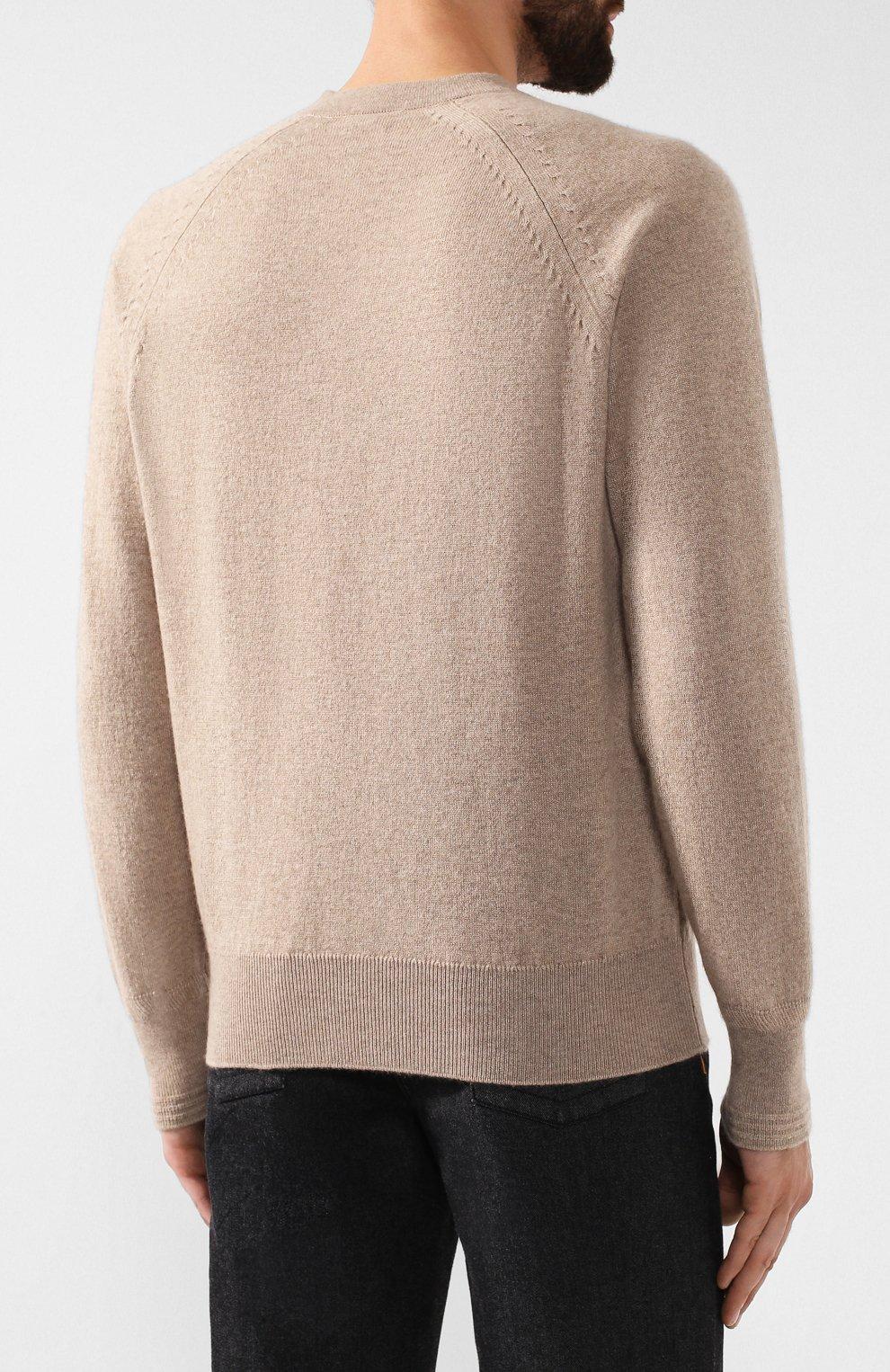 Кашемировый пуловер | Фото №4