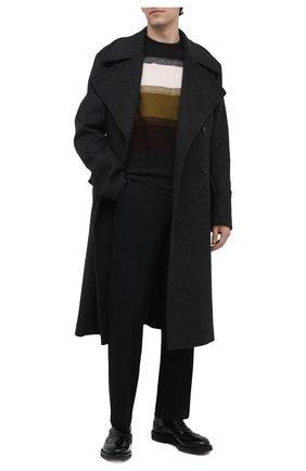 Мужские кожаные оксфорды PREMIATA черного цвета, арт. 31116/REAL | Фото 2