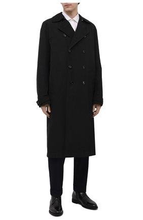 Мужские кожаные ботинки BARRETT черного цвета, арт. 132U076.4/VITELL0 | Фото 2