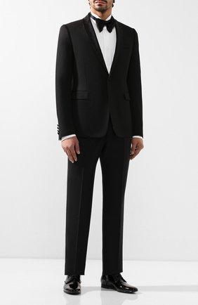 Мужской шерстяной пиджак BERLUTI черного цвета, арт. R16GCL50-001 | Фото 2
