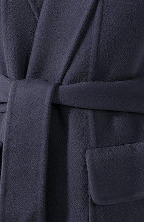 Женский кашемировый жилет LORO PIANA синего цвета, арт. FAG3518 | Фото 5