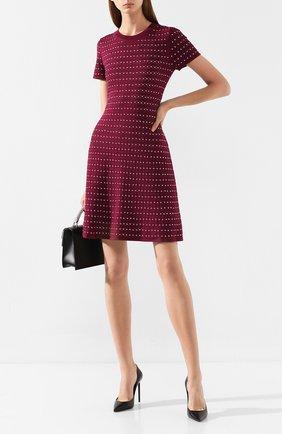 Женское платье MICHAEL MICHAEL KORS бордового цвета, арт. MU98YWC5ZV | Фото 2