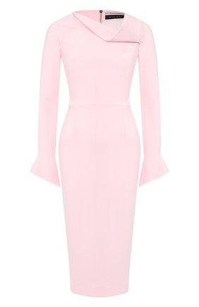 Женское платье ROLAND MOURET светло-розового цвета, арт. PW19/S0647/F2196 | Фото 1