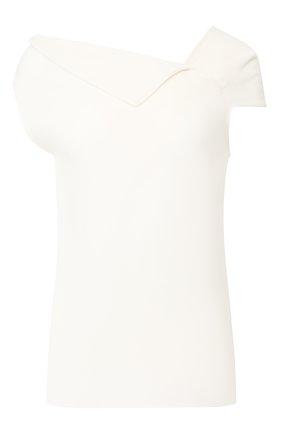 Женская шерстяной топ ROLAND MOURET белого цвета, арт. PW19/S0223/F4044 | Фото 1