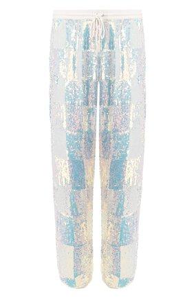 Женские брюки с пайетками RETROFÊTE светло-розового цвета, арт. AK-1701 | Фото 1