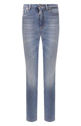 Женские джинсы DOLCE & GABBANA синего цвета, арт. FTAH6D/G8BF2 | Фото 1