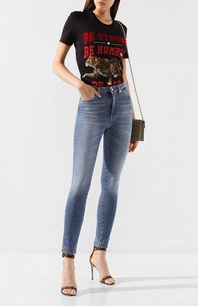 Женские джинсы DOLCE & GABBANA синего цвета, арт. FTAH6D/G8BF2 | Фото 2