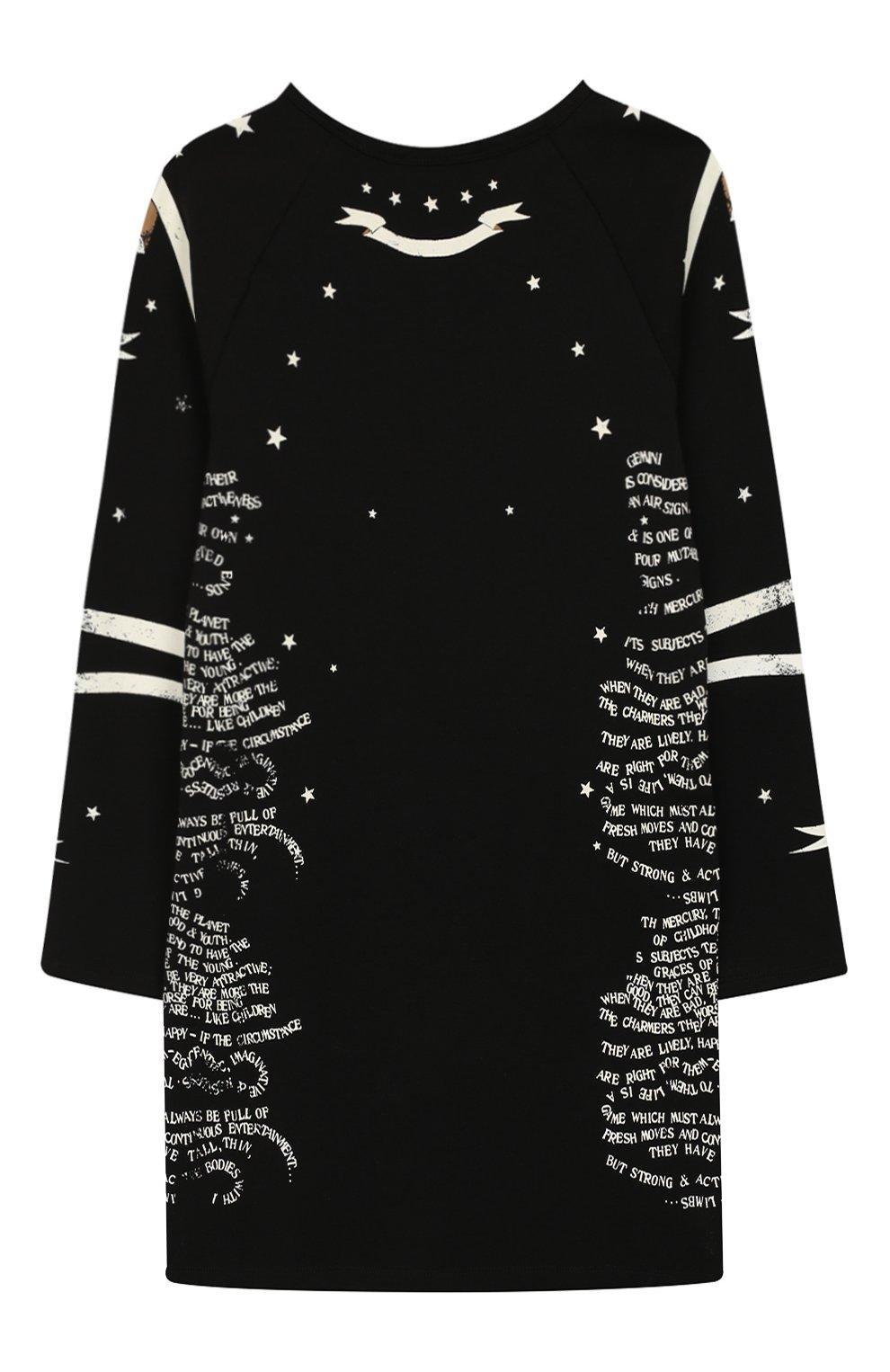 Детское платье Givenchy черного цвета | Фото №2