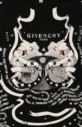 Детское платье Givenchy черного цвета | Фото №3