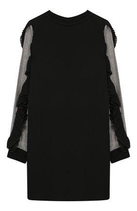 Детское платье GIVENCHY черного цвета, арт. H12095 | Фото 2
