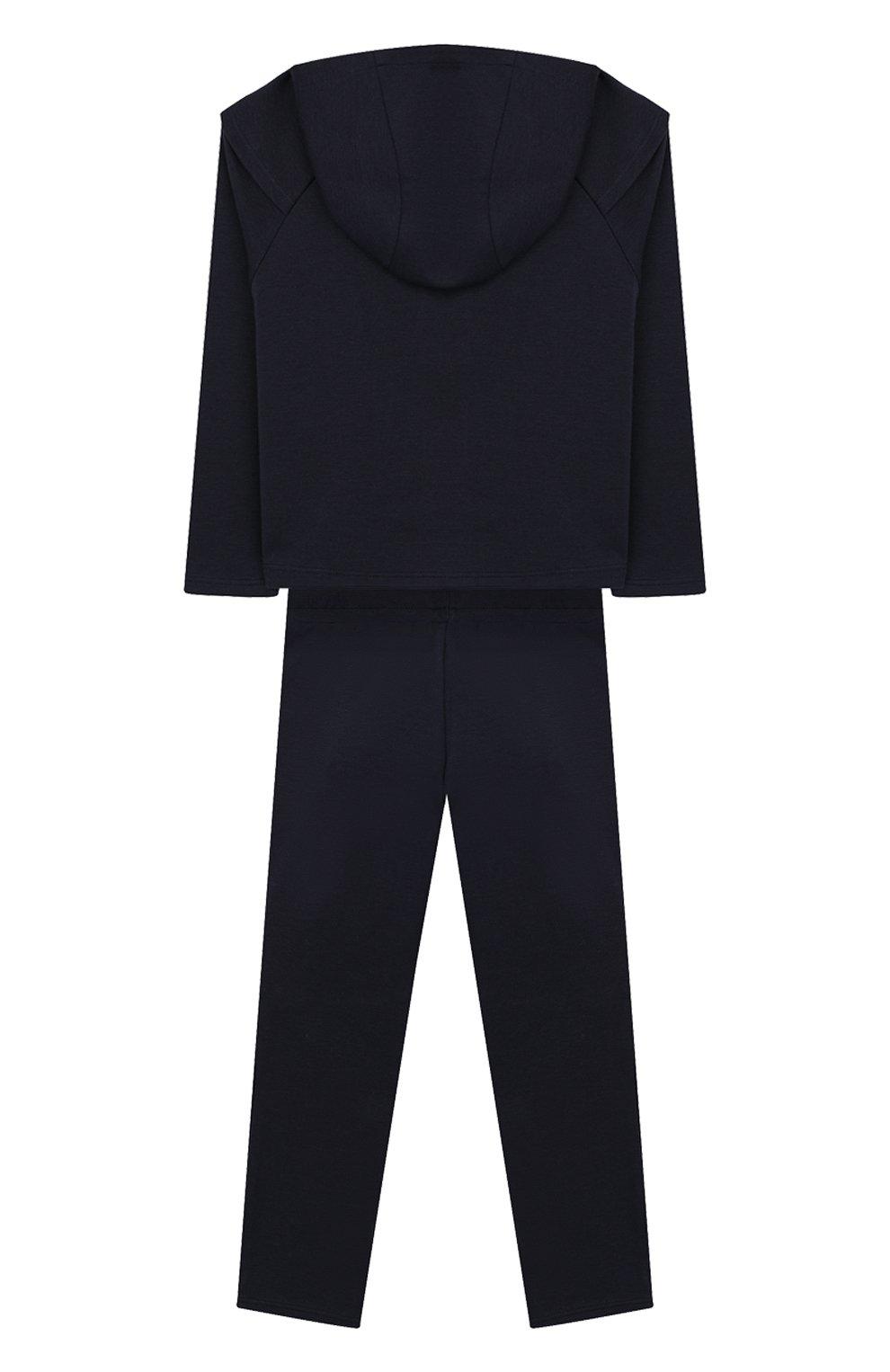 Детский комплект из кардигана и брюк MARC JACOBS (THE) синего цвета, арт. W08066   Фото 2