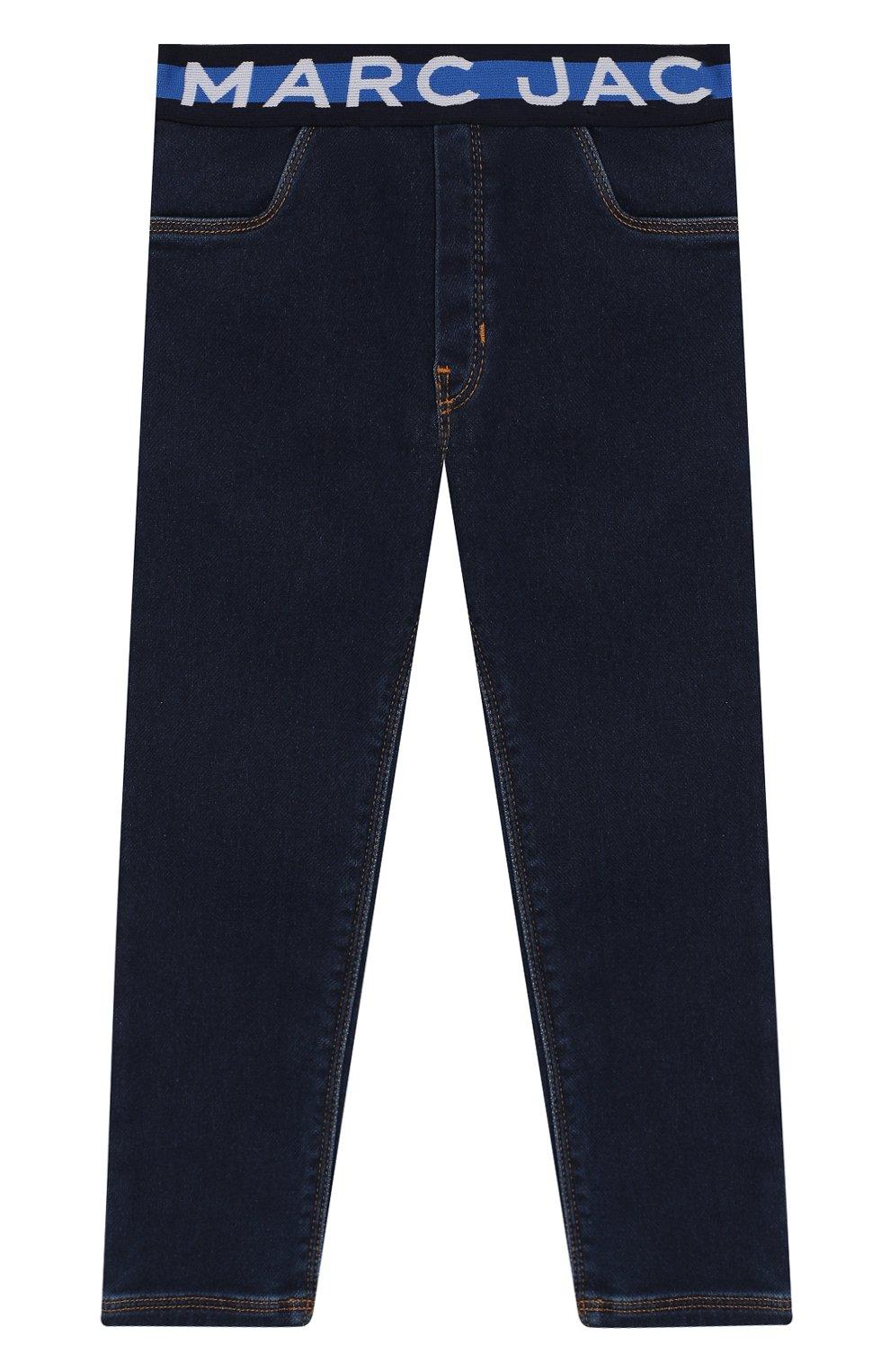 Детские джинсы MARC JACOBS (THE) темно-синего цвета, арт. W04168 | Фото 1