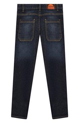 Детские джинсы с лампасами MARC JACOBS (THE) синего цвета, арт. W24202   Фото 2