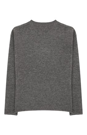 Детский шерстяной пуловер IL GUFO серого цвета, арт. A19MA296EM220/5А-8А | Фото 2