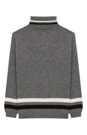 Детский шерстяной свитер IL GUFO серого цвета, арт. A19MA282EM220/5А-8А | Фото 2