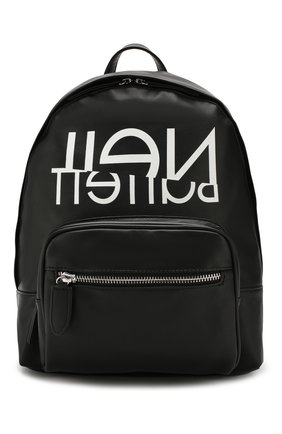 Детская рюкзак NEIL BARRETT KIDS черного цвета, арт. 020645 | Фото 1