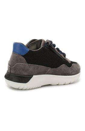 Замшевые кроссовки   Фото №3