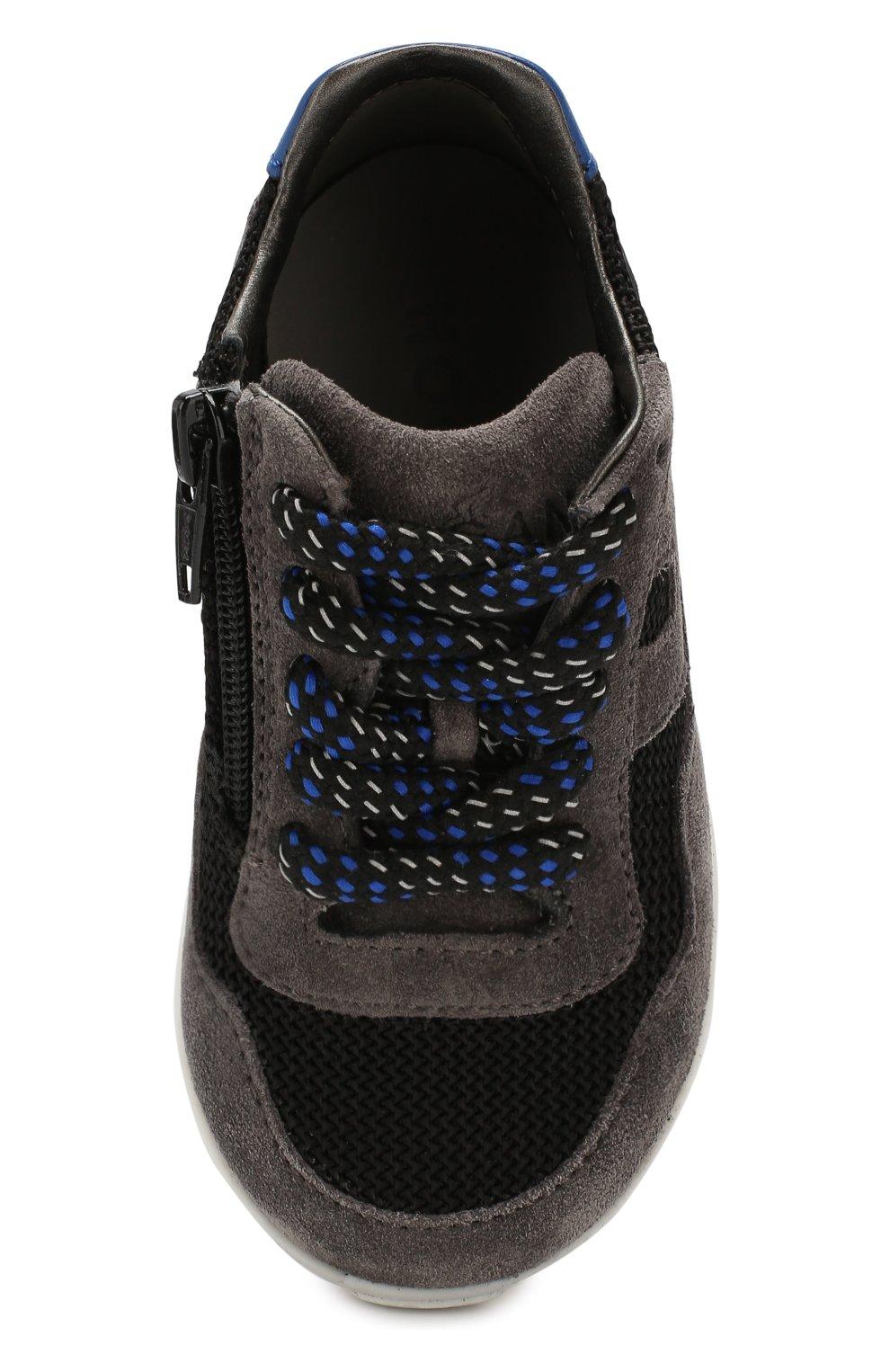 Замшевые кроссовки   Фото №4
