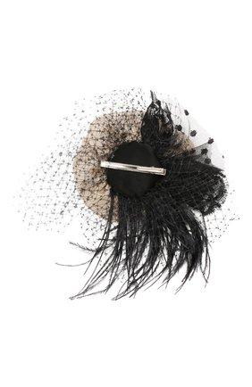 Детская заколка DESIGNERS CAT черного цвета, арт. 100000K01000383 | Фото 2