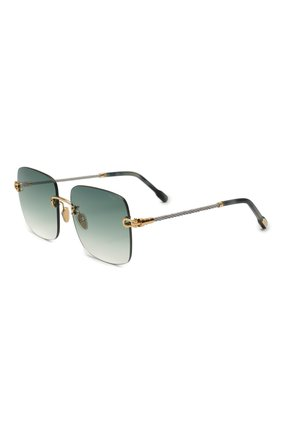 Женские солнцезащитные очки FRED зеленого цвета, арт. FG40005U 30P | Фото 1