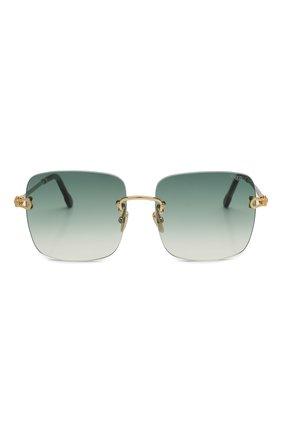 Женские солнцезащитные очки FRED зеленого цвета, арт. FG40005U 30P | Фото 3