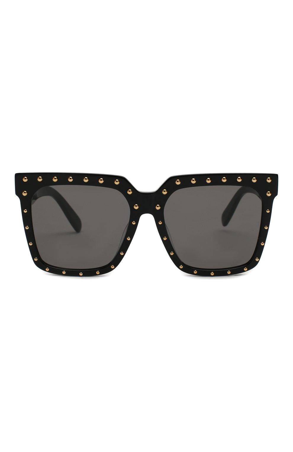 Женские солнцезащитные очки CELINE EYEWEAR черного цвета, арт. CL4055FS 01A | Фото 3