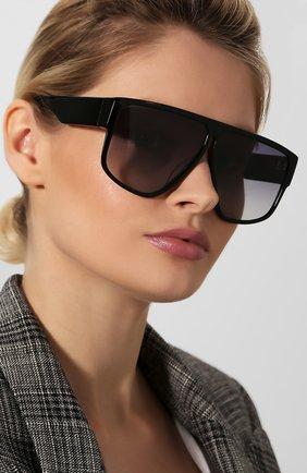 Женские солнцезащитные очки SPEKTRE черного цвета, арт. LAURENT 01AFT | Фото 2