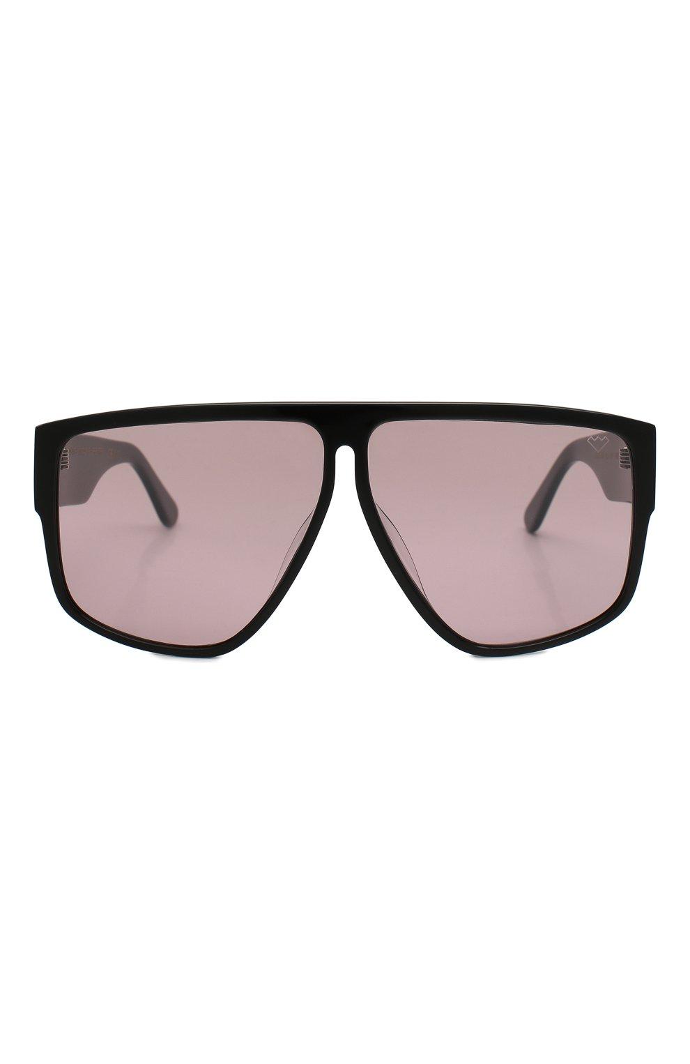 Женские солнцезащитные очки SPEKTRE темно-розового цвета, арт. LAURENT 01BFT | Фото 3 (Тип очков: С/з; Статус проверки: Проверено, Проверена категория; Очки форма: Маска, D-форма; Оптика Гендер: оптика-женское)