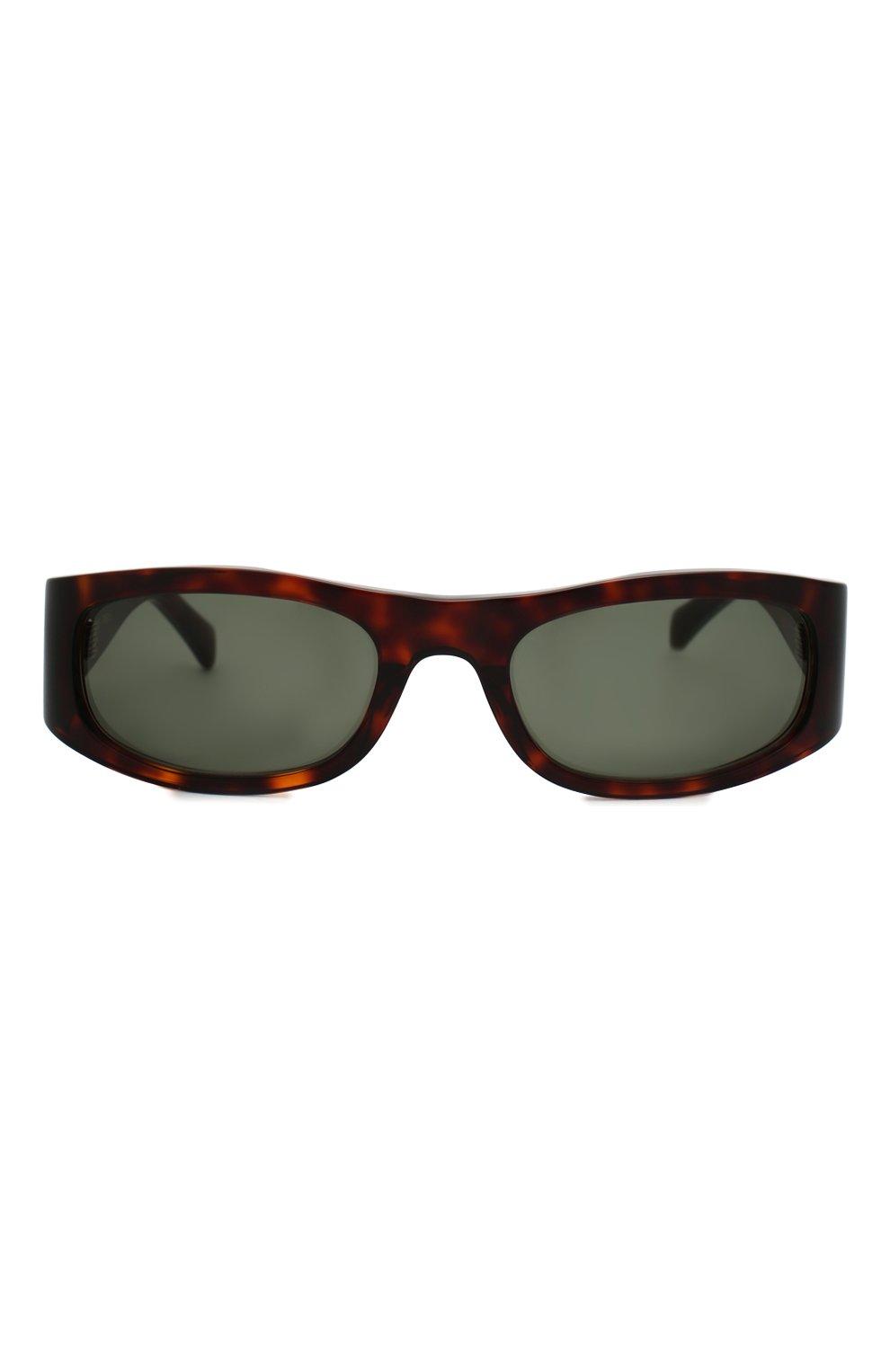 Женские солнцезащитные очки CELINE EYEWEAR коричневого цвета, арт. CL40085I 52N | Фото 3