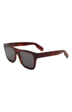Женские солнцезащитные очки KENZO коричневого цвета, арт. KZ40018U 53A | Фото 1