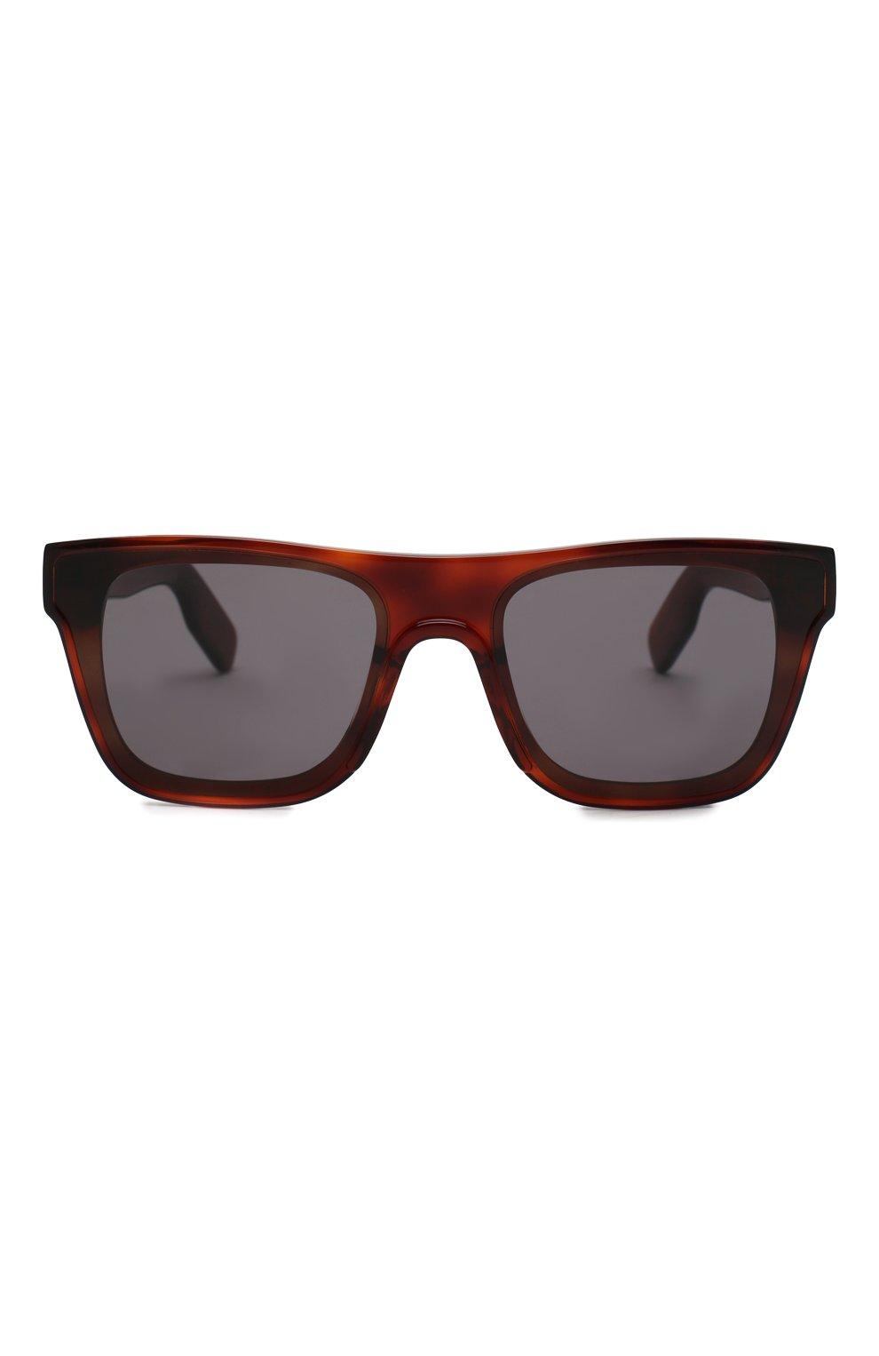 Женские солнцезащитные очки KENZO коричневого цвета, арт. KZ40018U 53A | Фото 2